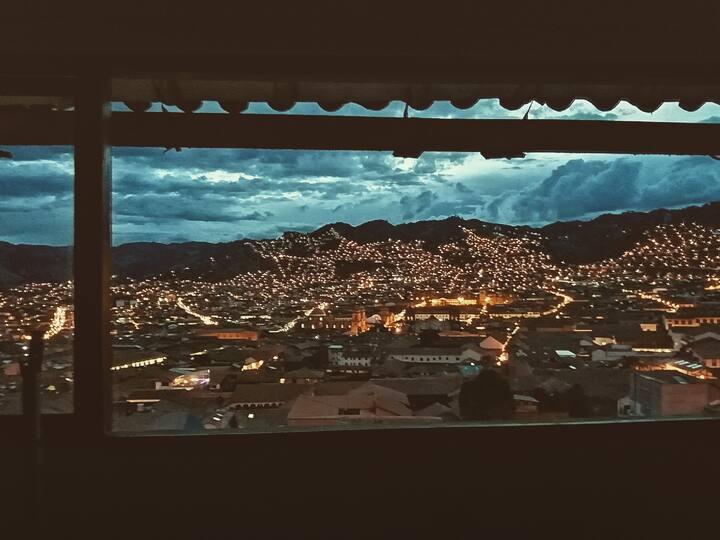 Lindo departamento loft con la mejor vista d Cusco