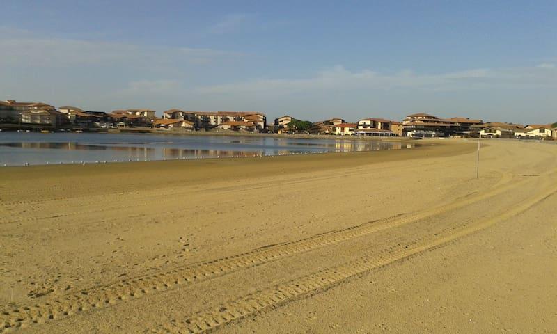 plage lac marin