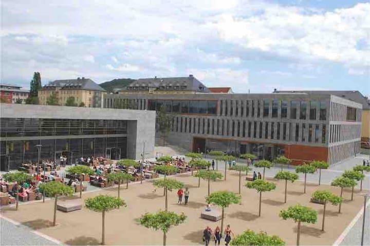 Appartement neben Hochschule Fulda WIFI Cafeteria