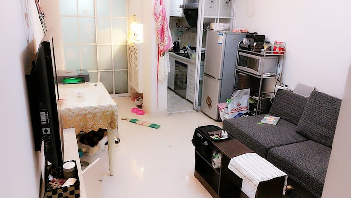 限女生 Viva & Cats  拱墅区套房内单个独立房间 毗临小河直街/大悦城/城西银泰