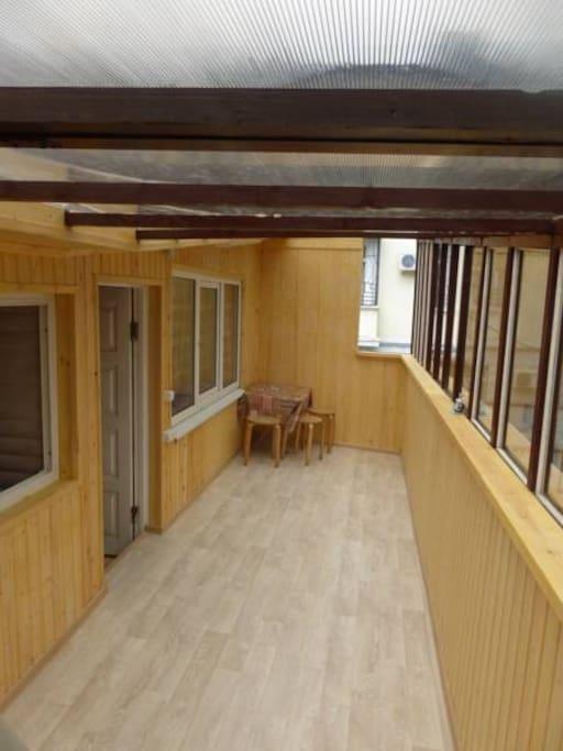 Балкон 15 кв м