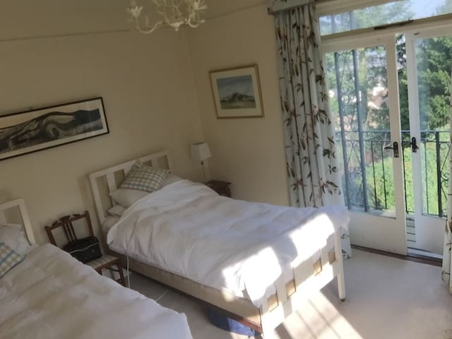 Beautiful ensuite balcony room with stunning views - Worcestershire - Huis