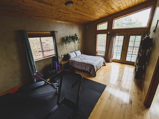 Master Bedroom with Access to Private Deck