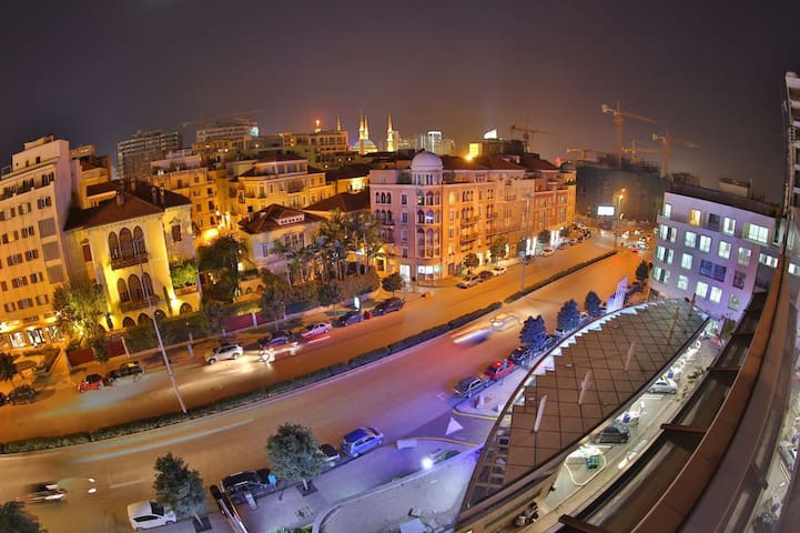 Saifi Luxury - Beirut Downtown view - Bayrut - Apartment