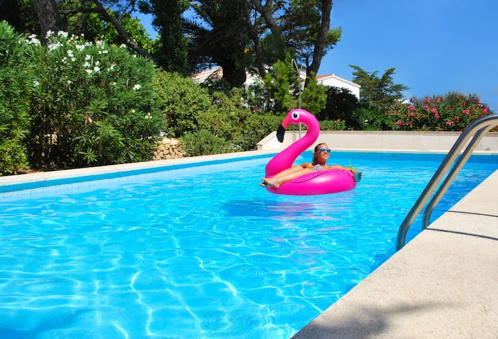 Villa in Addaia great sea view and fun pool