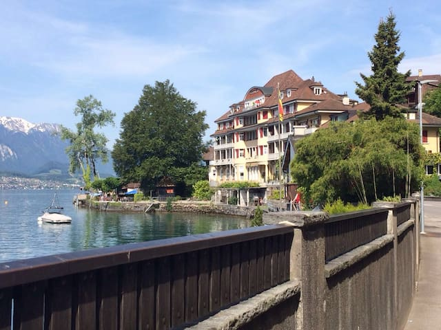 super schöne lage am thunersee - Gunten - Bed & Breakfast
