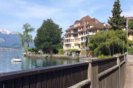 super schöne lage am thunersee - Bed & Breakfast
