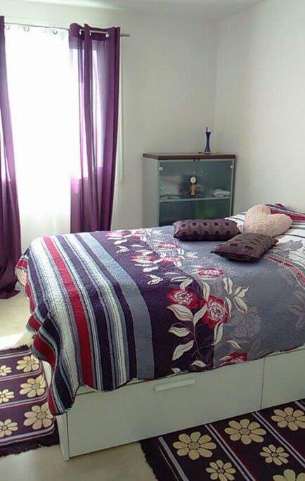 Chambre lit bouble