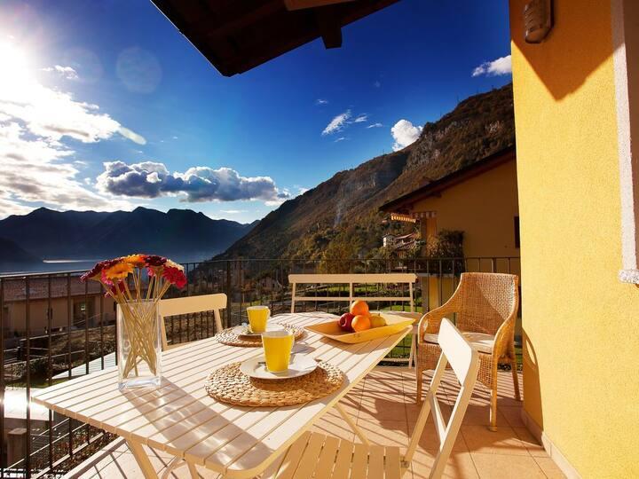 Apartment Fabiana In Ossuccio Pool Apartment