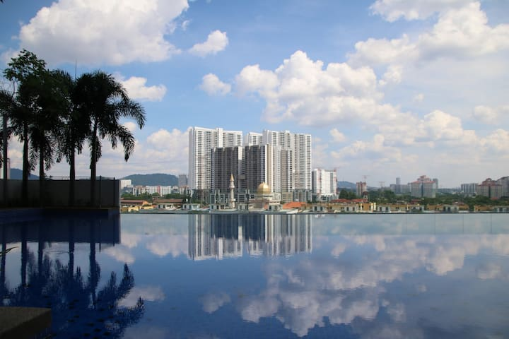Homey 3BR Apt 8 Pax Family Perfect KLCC City View