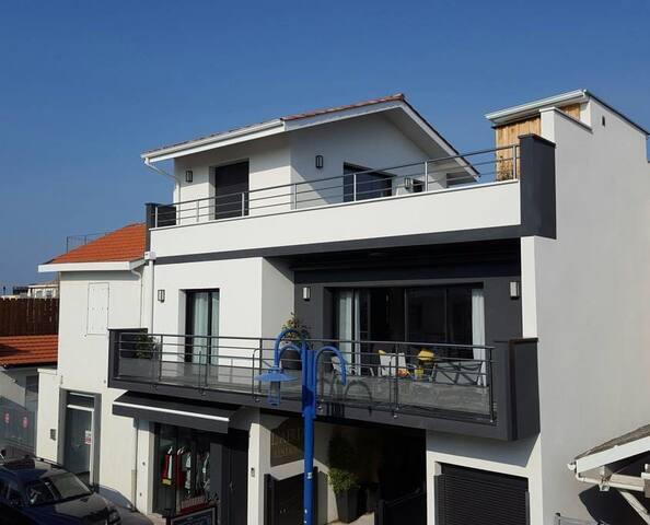 Les balcons du Bassin classé 4*meublé de tourisme