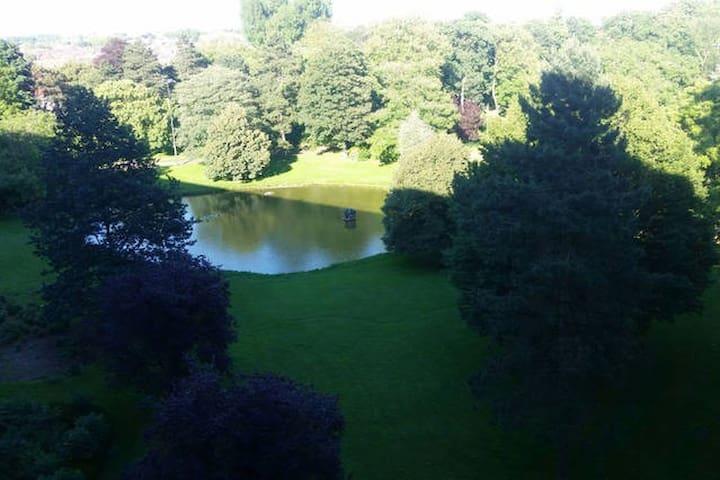 Appartement cosy avec sublime vue sur lac - tourcoing - Appartement
