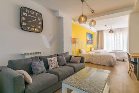 Moderno apartamento cerca Aeropuerto e IFEMA