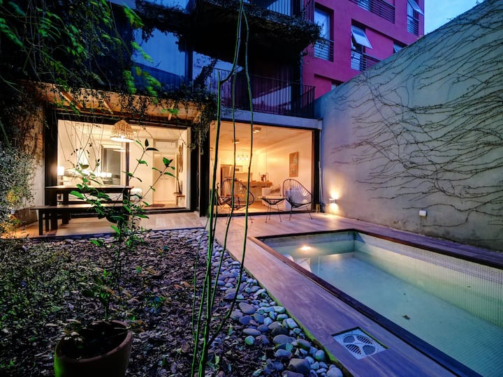 1-bdr apt with private pool in Palermo Soho! #RU01