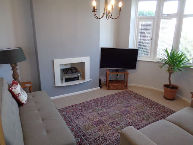 Large room in a shared house.