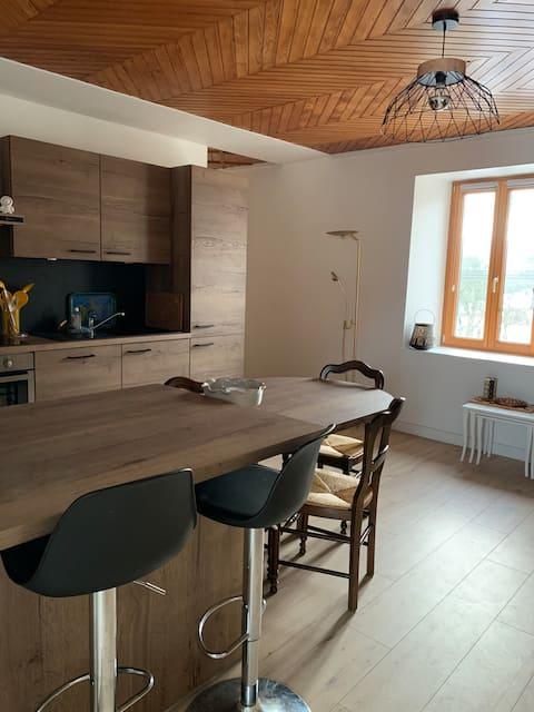 Appartement 2 pers. dans village du Haut-Doubs