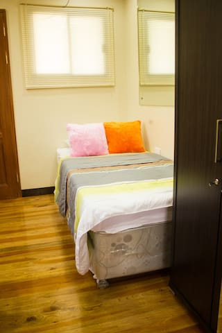 Comfortable Single Bed with Pull Out Bed