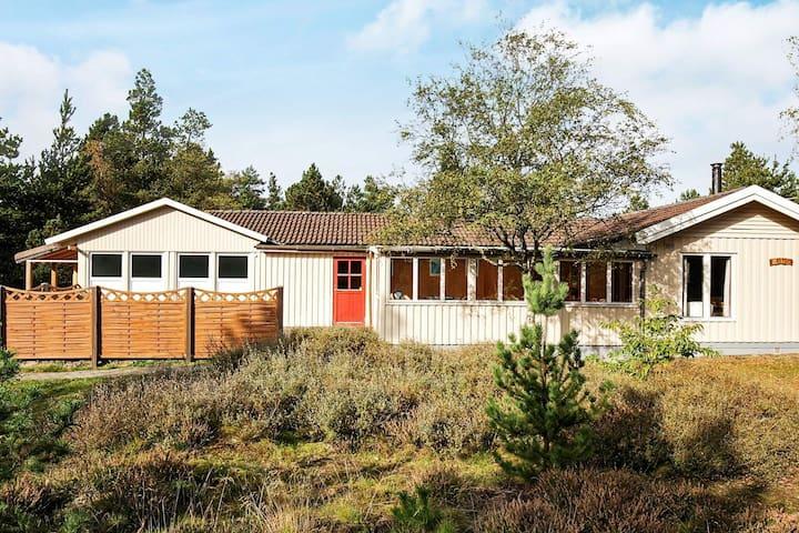 Vintage-Ferienhaus in Jütland mit Swimmingpool