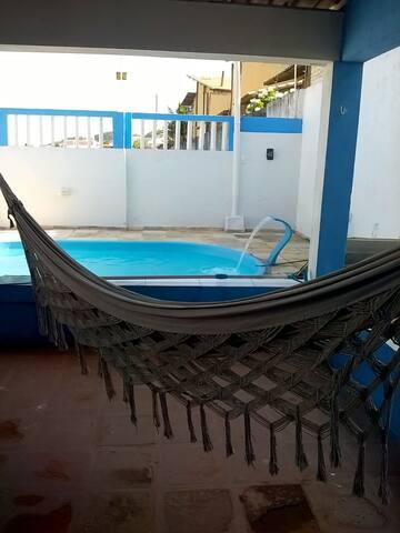 Casa de praia com piscina em Buzios-RN. - Nísia Floresta - 一軒家