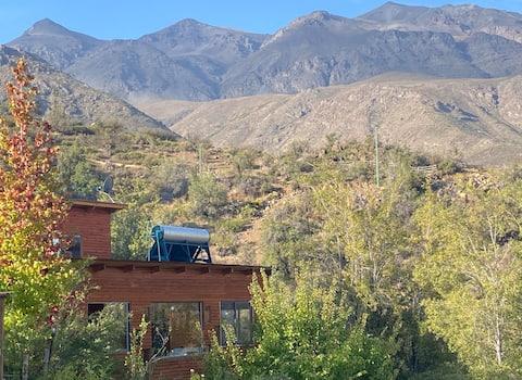 Casita de la Montaña en Los Andes. Sorpréndete !!!