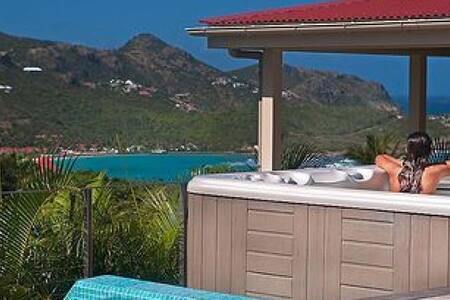 Maison Rouge - Ideal for Couples and Families, Beautiful Pool and Beach - St. Barts - Villa