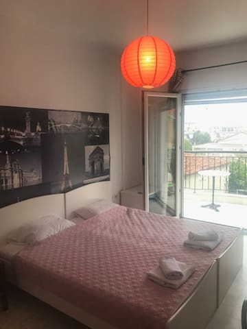 Two bed studio in the center of Nea Chili