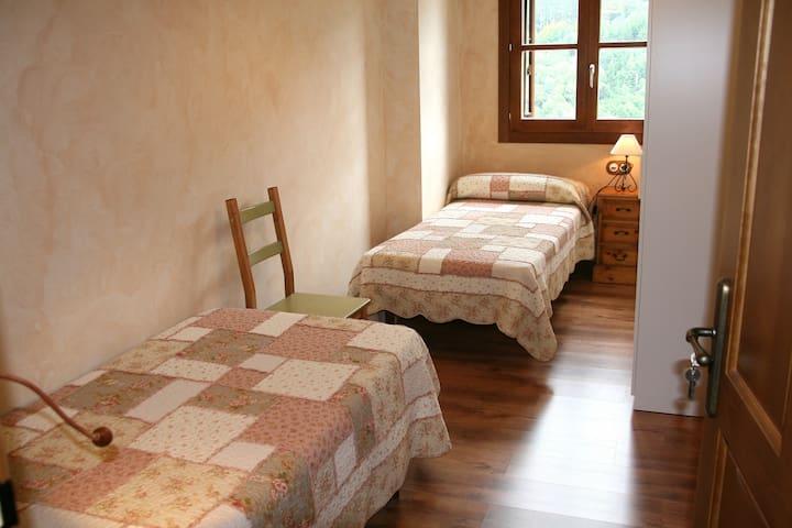 Apartamento con encanto,  mucha luz y tranquilidad - Isaba - Daire