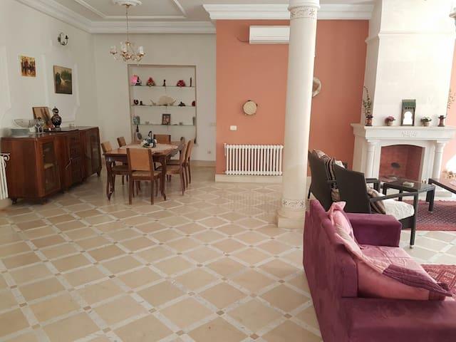 Villa aux jardins de l'aouina