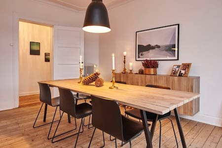Spacious, quiet & walking distance to city centre - Copenhaguen - Pis