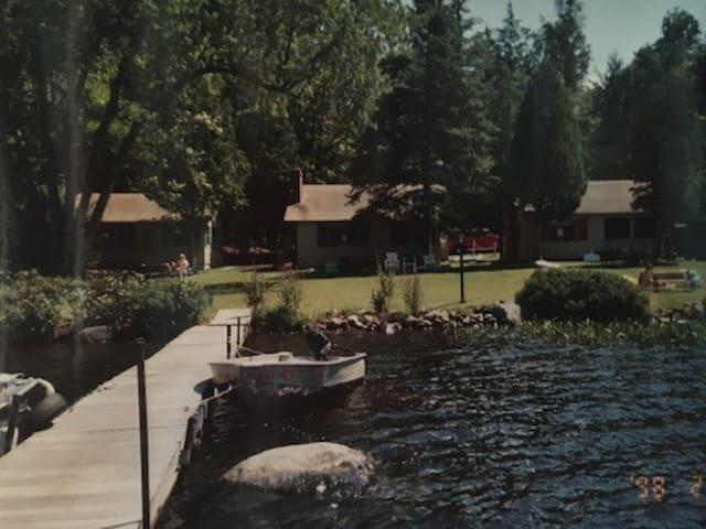 Birch Cottage on Tupper Lake