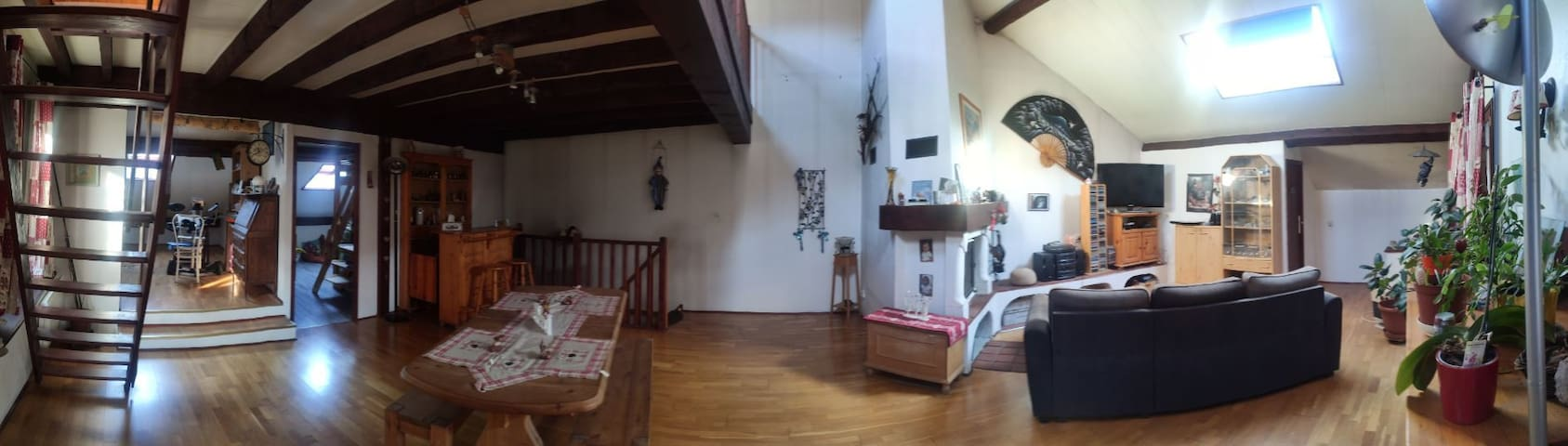 chambre privée dans village savoyard