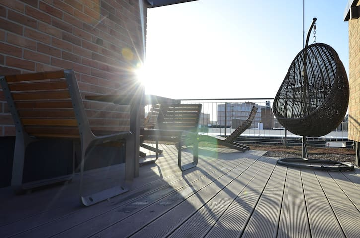 New apartment by the Old Town, rooftop terrace