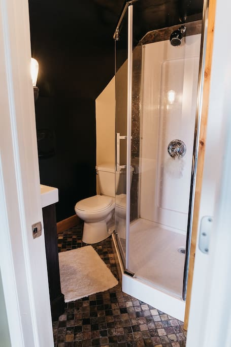 Private bathroom w/ shower