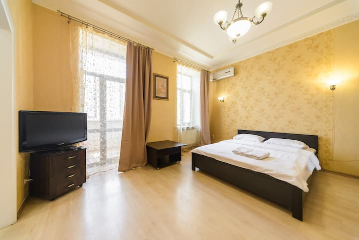 Cozy apartment in the center of Kiev Antonovich 41