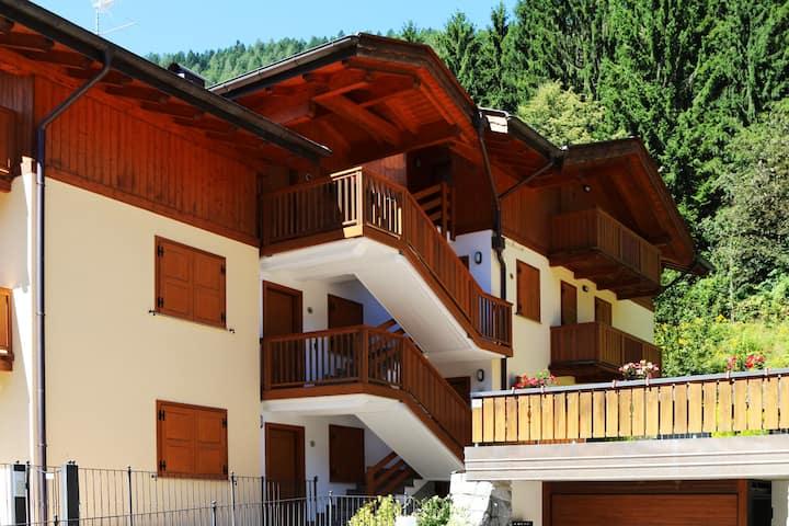 Confortevole appartamento in Val Rendena