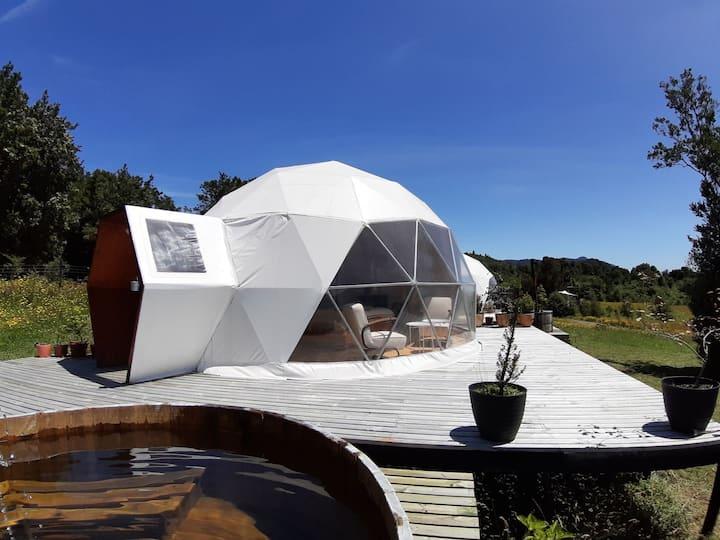 """""""Vulcano Camp, Glamping & Hottub"""" Puerto Varas. D2"""