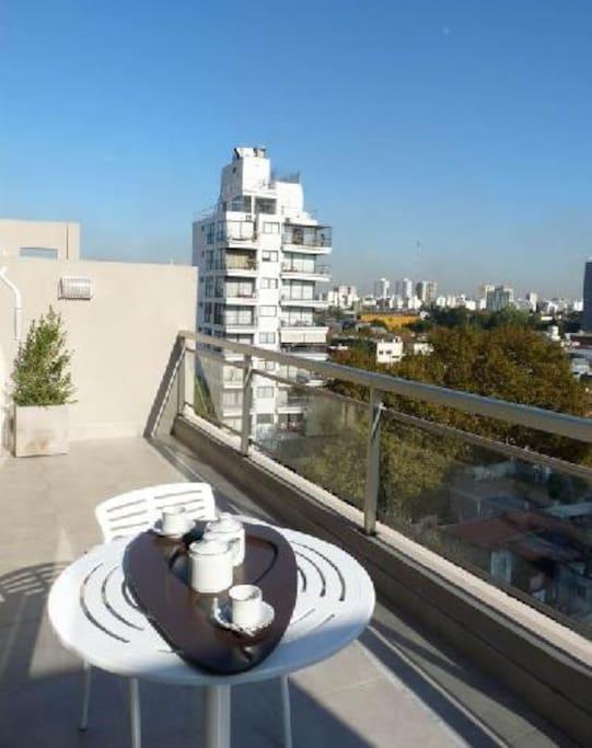 balcon y vistas