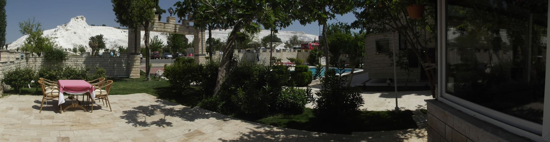 HOTEL HAL TUR TWN  ROOM(VIEW POINT HOTEL ) - Pamukkale - Bed & Breakfast