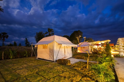 Private Tent Share Bathroom - No Breakfast