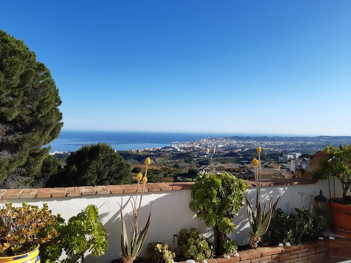 Apartment near Mijas, stunning view