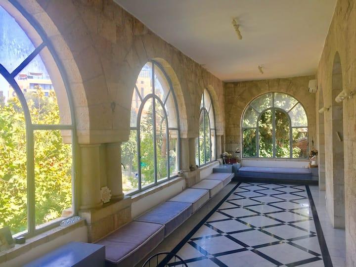 Exquisite authentic Jlem home in historic location