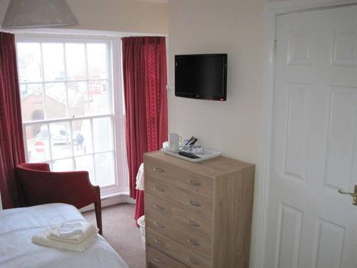 Double room at The Brunswick Hotel