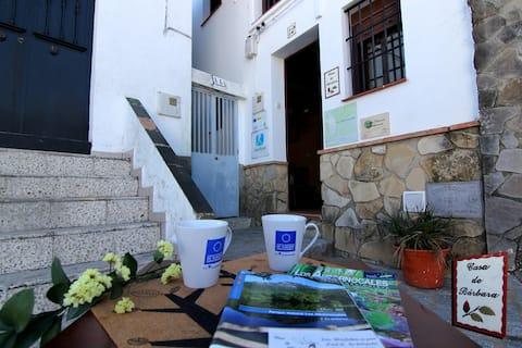 Casa de Bárbara. Hjertet av nasjonalparken Los Alcornocales
