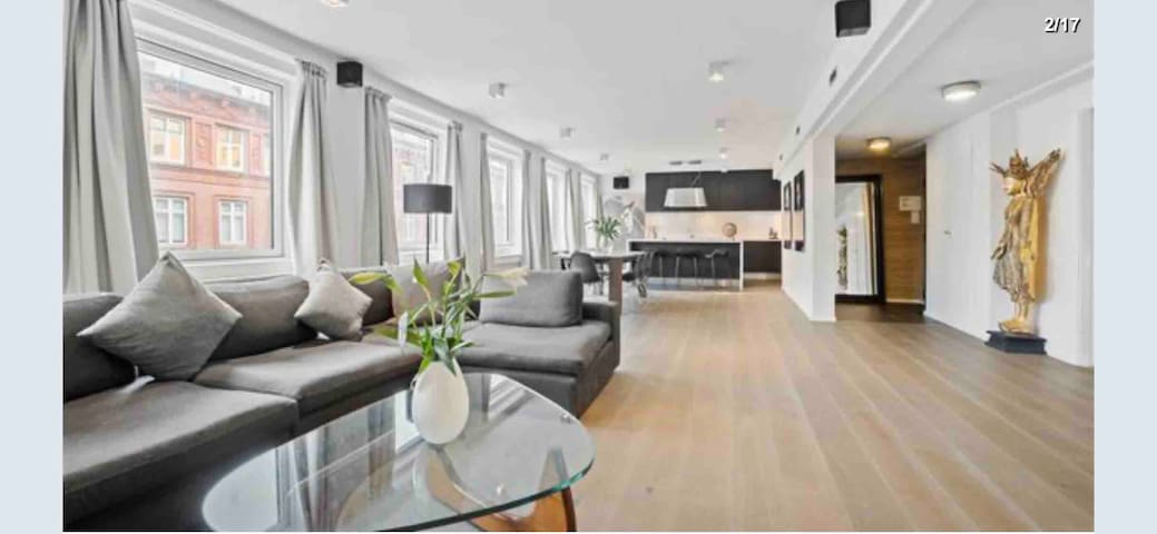 Luxurious 165 m2 apartment - Best central location