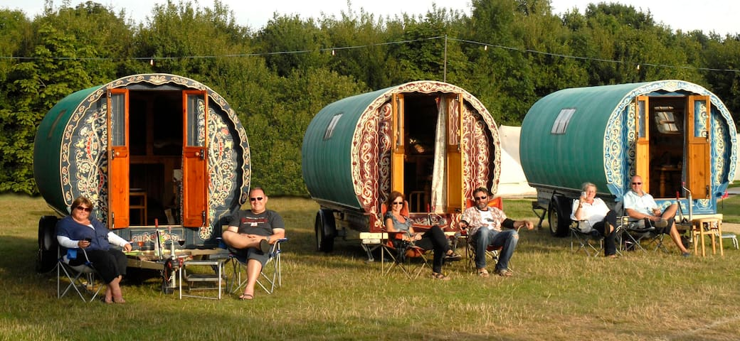 Gypsy Caravan Hire... you name the location