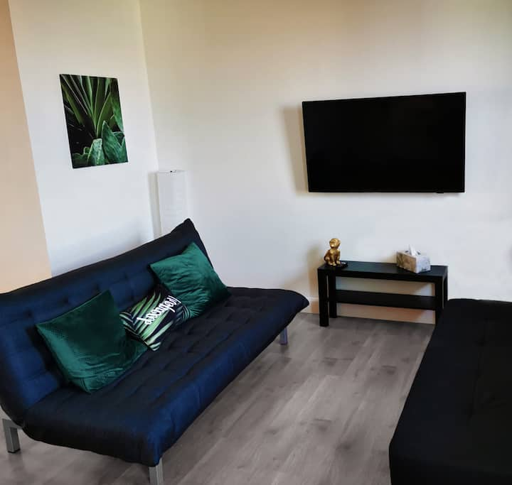 Appartement 3 1/2 4 pers, Netflix, Parking