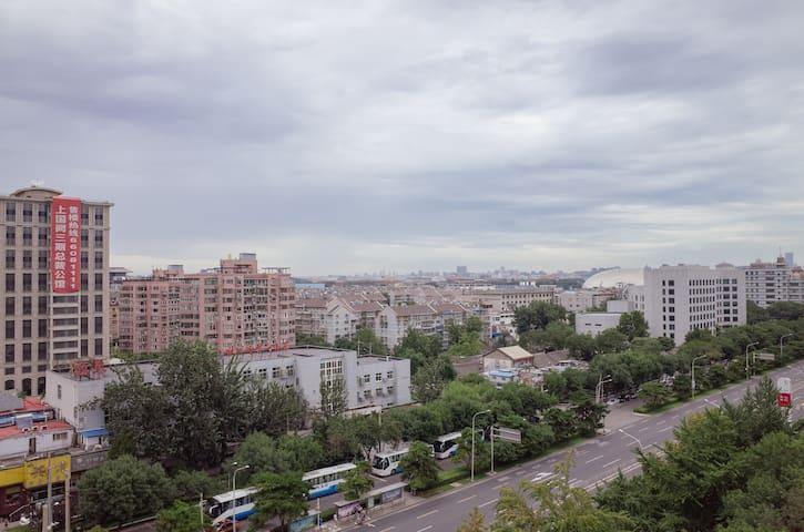 市中心的温馨居室,步行可至天安门等文化景点,楼下就是地铁站 - Pekin - Apartament