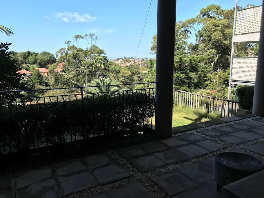 Lawn and View to Coogee