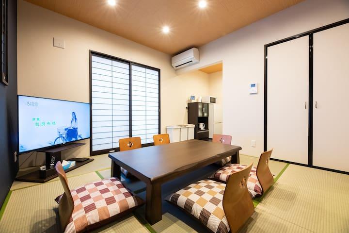 Living room & Bed room(1st floor)