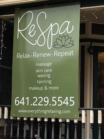 RESPA, located on the lower level, is a day spa offering many services that guests can take advantage of at a discount!  SERVICES ARE BY APPOINTMENT ONLY!